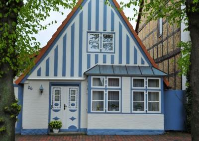 Fischerhaus in der Langen Straße mit Utlucht