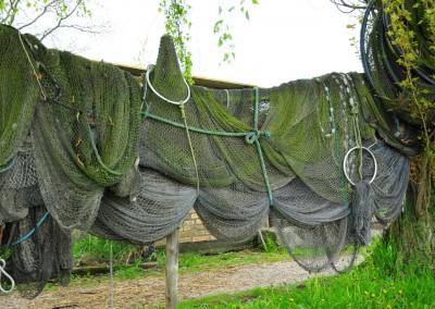 Fischernetze bei Arnis
