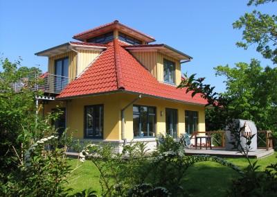 Ferienhaus Det gule Hus Südterrasse