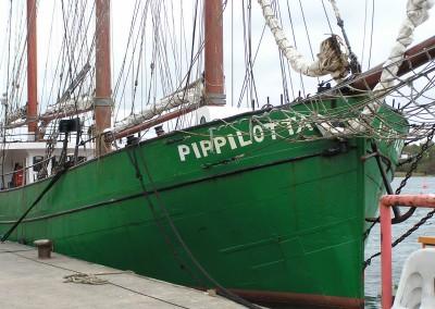 Zweimaster Pipilotta im Museumshafen