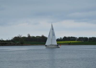 Segelschiff vor Arnis