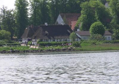 Reetdach-Idyll Sieseby