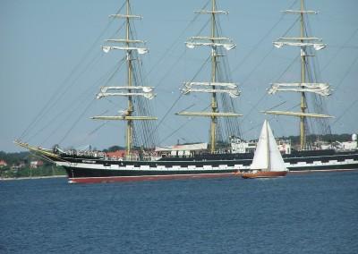 Krusenstern Cutty Sail Flensburg