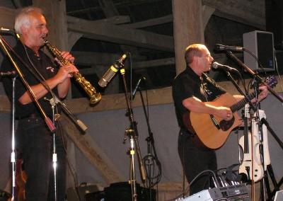 Ulf Schirmer mit Gerry Doyle