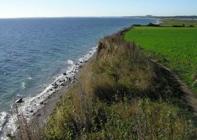 Steilküste bei Schönhagen